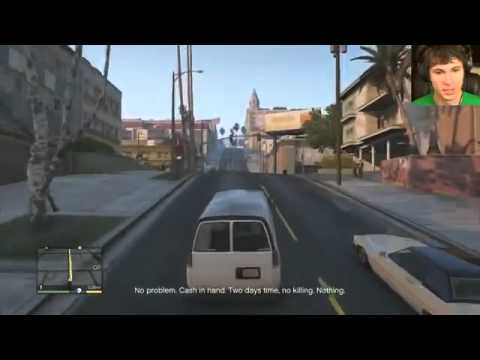 Game Review   Grand Theft Auto V   DOG HUMPING!!   Part 6    Battle Hard Game