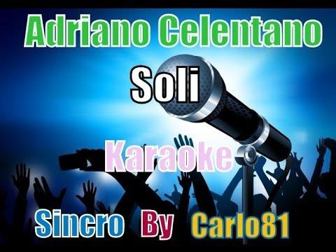 Adriano Celentano - Soli karaoke
