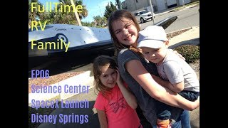 Full Time RV Family - Orlando Science Center, SpaceX Launch - EP06
