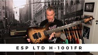ESP LTD H-1001FR Black Natural Burst