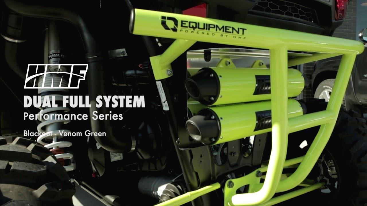 hmf polaris rzr xp 1000 exhaust systems