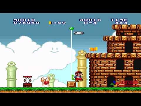 Super Mario Bros Lost levels - World  A
