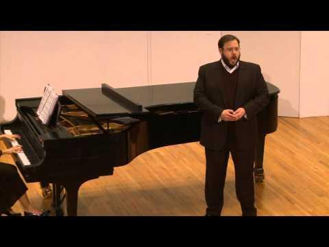 Thou shalt break them (Messiah) by G. F. Handel - Michael Papincak, tenor