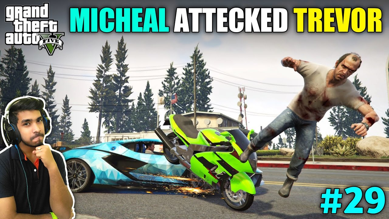 MICHAEL GETS REVENGE ON TREVOR | GTA V GAMEPLAY #29