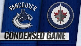 Vancouver Canucks vs Winnipeg Jets – Oct.18, 2018 | Game Highlights | NHL 18/19 | Обзор матча