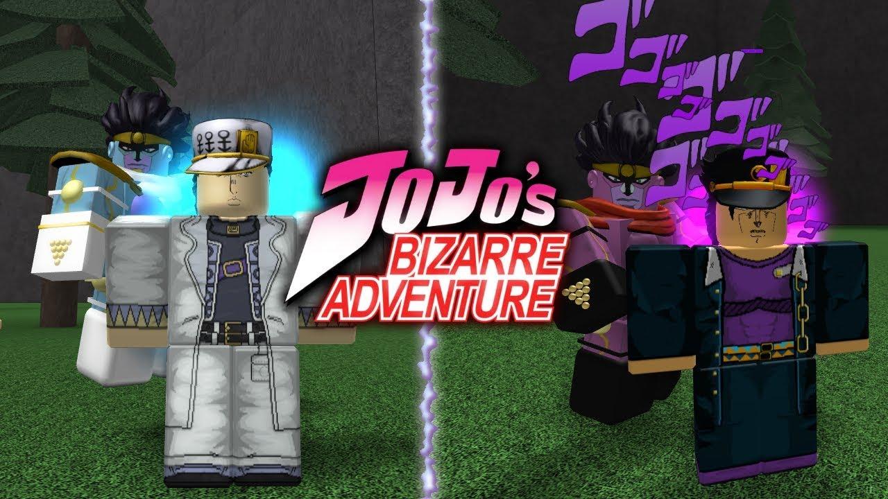 Roblox Jojo S Bizarre Adventure Games Are Bizarre Youtube New Jojo S Bizarre Adventure Game On Roblox Youtube