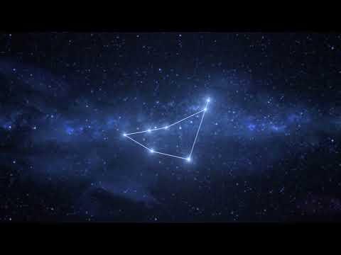 Capricorn Constellation / Zodiac - Free motion graphics