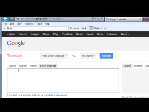 How To Translate Language Using Google Translate