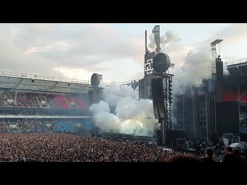 Rammstein - Intro + Was Ich Liebe (Live Ullevaal Stadion, Oslo, Norway - August 18, 2019) HD
