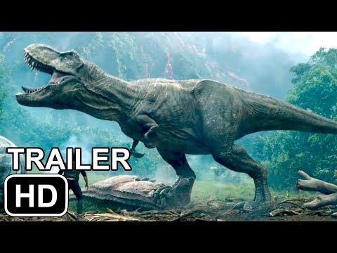 Download Youtube: JURASSIC WORLD 2 OFFICIAL TRAILER (2018)