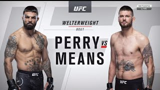 MIKE PERRY VS. TIM MEANS UFC 255 FULL FIGHT