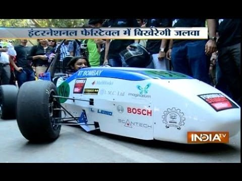 IIT Bombay students make electric racing car 'EVo.3'