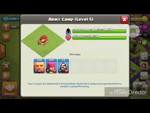 Clash of clans-how to train troops fast without wasting time