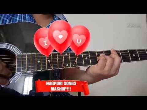 NAGPURI SONGS MASHUP with guitar | Nagpuri mashup