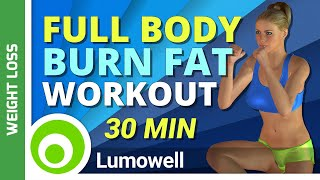 30 Minute Full Body Workout to Burn Fat