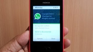 official real whatsapp review on nokia asha 501 download how to set up and operation demo