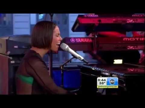 Alicia Keys  Brand New Me Good Morning America