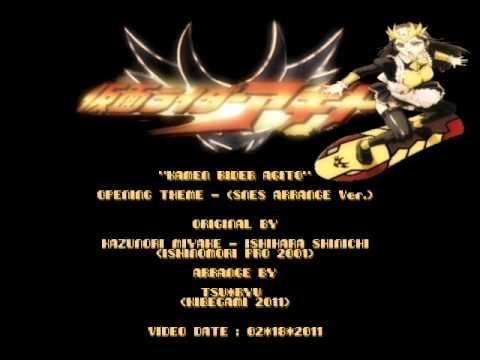Tsu Ryu - Kamen Rider Agito - Opening Theme (SNES/SFC Arrange Ver.)