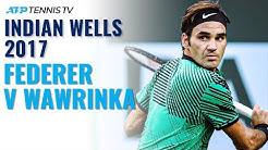 Classic Tennis Highlights: Federer v Wawrinka | Indian Wells 2017