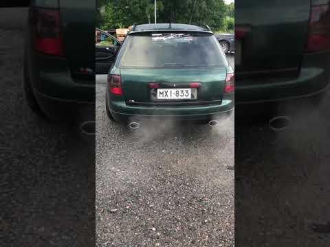 Audi a6 c5 4.2 milltek race exhaust