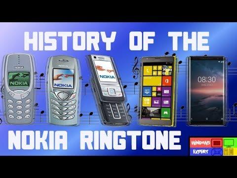 HISTORY OF THE NOKIA PHONE RINGTONE [1994-2019]
