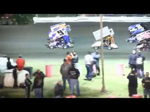 KYLE WOODCOCK 250s VIDEO CYCLELAND SPEEDWAY 2014