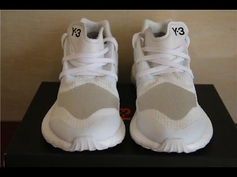 7b7602727 ADIDAS Y3 - Yohji Yamamoto Pure Boost ZG Crystal White from Beyourjordans.ca