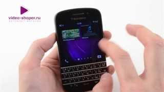 Огляд BlackBerry Q10