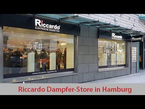 Riccardo Shop Hamburg Eröffnung 2018