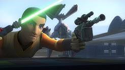 [Ezra & Sabine steal the New Tie-Defender] Star Wars Rebels Season 4 Episode 6 [HD]