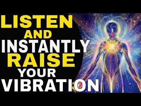 RAISE YOUR VIBRATION INSTANTLY✅ 3 HIDDEN TECHNIQUES To Raise Your Vibration To Attract What You Want