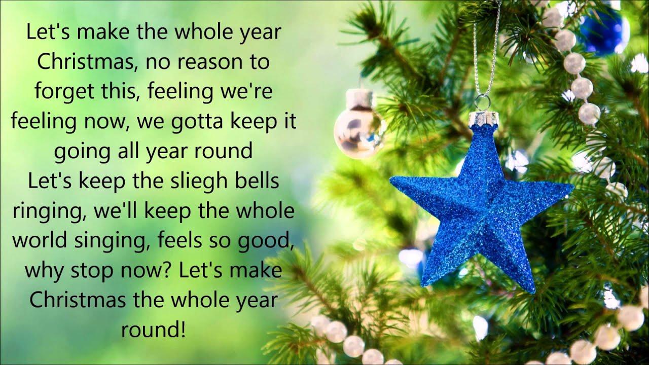Christmas the Whole Year Round - Sabrina Carpenter Lyrics HQ *NON ...