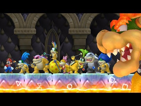 Another Super Mario Bros Wii - All Bosses