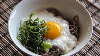 Tororo Soba Recipe - Japanese Cooking 101