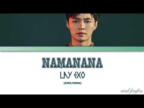 LAY 레이 'NAMANANA' (Color Coded Lyrics Eng/Indo)