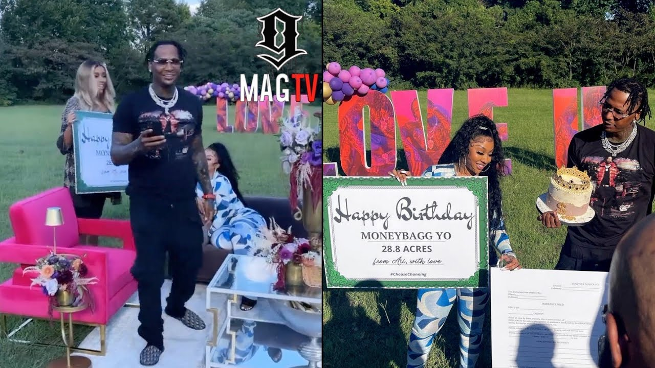 MoneyBagg Yo's Girlfriend Gives Him Over 28 Acres of Land for His ...