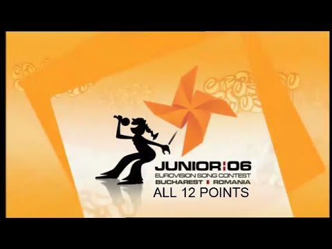 Junior Eurovision 2006 All 12 Points