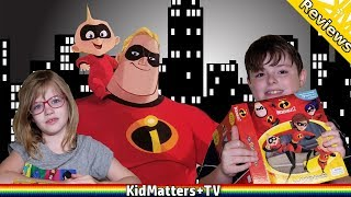 THE INCREDIBLES 2: My Busy Books Review. TOYS and story. Disney/Pixar [KM+Review S02E81]