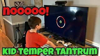 Kid Temper Tantrum Xbox Red Ring Of Death Prank On Kids - Ki...
