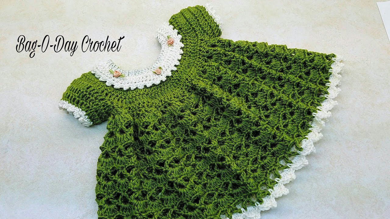 3f6f79ff4 How To Crochet - Baby Dress