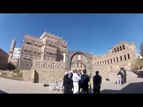 GoPro in Sana'a, retracing the steps of the ex-Principal of The British School