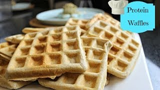 Cinnamon Swirl Protein Waffles Low Carb & High Protein