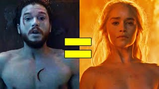 Game of Thrones: Every Jon & Dany Connection