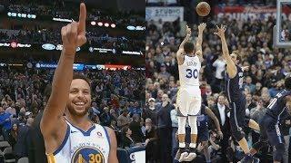 Stephen Curry Game Winner vs Mavs! Splash with 3 Seconds Left! 2017-18 Season