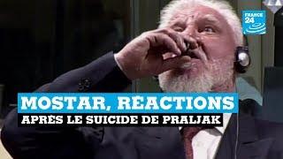 Mostar, réactions après le suicide de Praljak