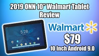 """2019 ONN 10"""" Walmart Tablet Review $79 Android 9 Tablet"""