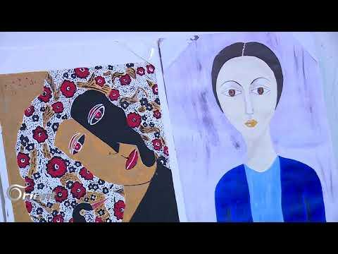 فنان سوري تحدى الإعاقة بموهبة الرسم   – جيران  - 20:21-2017 / 12 / 10