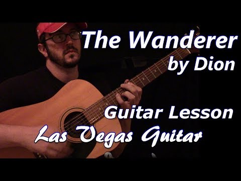 The Wanderer by Dion Guitar Lesson