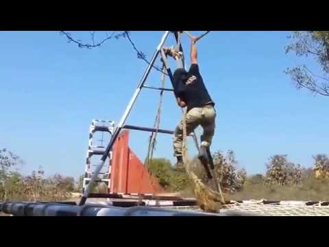 Training Video of BSF Commando