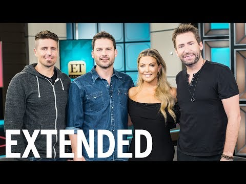 Nickelback Talk Their New Album 'Feed The Machine'